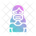 Mask Doctor Medical Icon