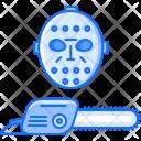 Mask Chainsaw Halloween Icon