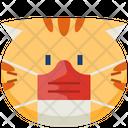 Mask Emoticon Cat Icon