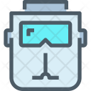 Mask Welding Safety Icon