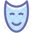 Mask Happy Face Icon