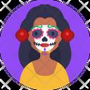 Dia De Muertos Day Of The Dead Mexican Icon