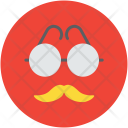 Mask Funny Glasses Icon