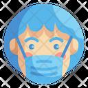 Mask Emoji Emoticons Icon