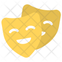 Comedy Theater Masks Icon