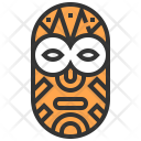 Mask Tribal Culture Icon