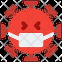 Mask Coronavirus Emoji Coronavirus Icon