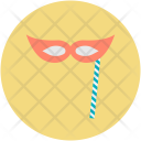 Mask Party Christmas Icon