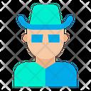 Man Mask Man Hat Icon