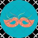 Mask Party Theme Icon