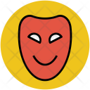 Mask Face Party Icon
