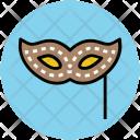 Mask Carnival Eye Icon