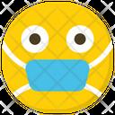 Mask Emoji Smiley Emoticon Icon