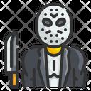 Mask Killer Character Costume Icon