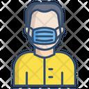 Mask Man Face Mask Medical Mask Icon