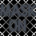 Mask On Icon