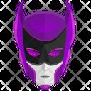 Maskman Violet Mask Icon