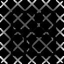 Display Masonry Justified Icon
