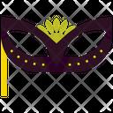Masquerade Party Mask Icon