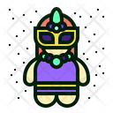 Carnival Character Avatar Icon