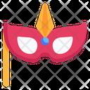 Masquerade Eye Prop Party Mask Icon