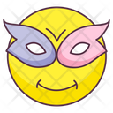 Masquerade Emoji Masquerade Expression Emotag Icon