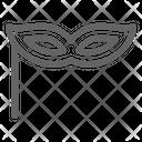 Masquerade mask Icon