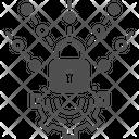 Mass Data Lock Data Lock Icon