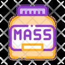 Mass Protein Icon