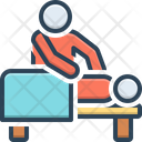 Massage Therapy Relaxation Icon