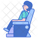 Massage Chair Relaxing Chair Relax Chair Icon