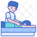 Massage Therapy Massage Spa Icon