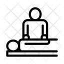 Orthopedic Masseur Patient Icon