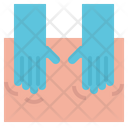 Massage Hand Back Icon