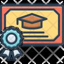 Masters Postgraduate Diploma Icon