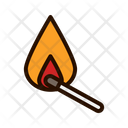 Match Fire Equipment Fire Icon