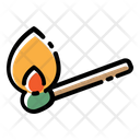 Match Fire Flame Icon
