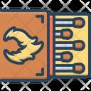 Match Matchbox Matchstick Icon