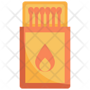 Match Fire Camping Icon