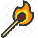 Match Fire Burn Icon