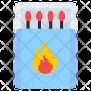 Match Box Matches Fire Icon