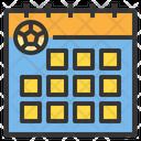 Calendar Match Schedule Match Date Schedule Icon