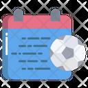 Match Date Football Match Date Match Icon