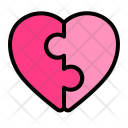 Match Heart Puzzle Icon