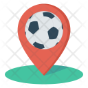 Pin Location Soccer Icon