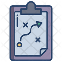 Match Strategy Match Planning Strategy Icon