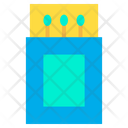 Match Matchstick Box Icon