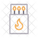 Flame Camp Outdoor Icon