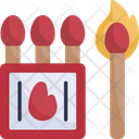 Matches Outdoor Matchbox Icon