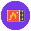 Matchstick Matchbox Fire Stick Icon